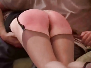 older babes spanked