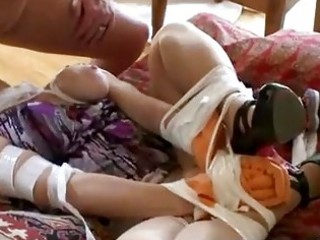 bound up mother i gets drilled in bizarre way