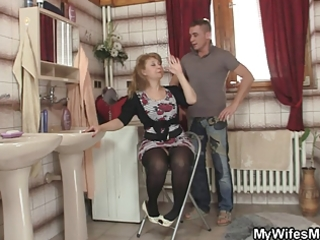 she went out and he is fucks her mother