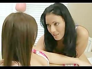 lesbo mamma juvenile girl enema