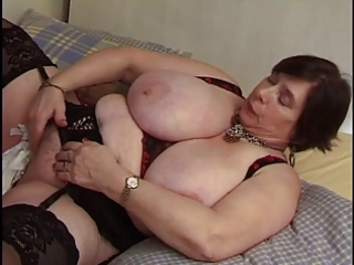 french big beautiful woman mature with toy