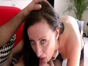 hawt aged slut in stockings acquires drilled