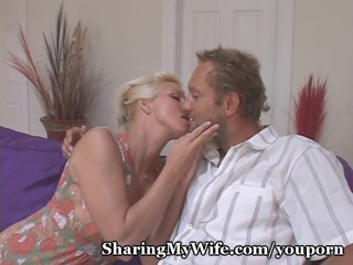 housewife desires old and youthful cock