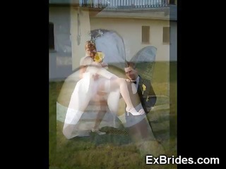 real youthful brides caught naked!