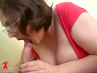 corpulent mother i drilled by student