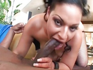 lustful brunette milf roughly drilled by bbc