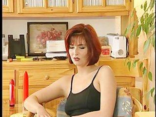 gorgeous mother i masturbates during interview