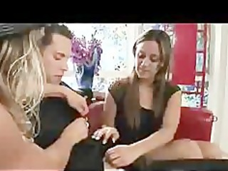 mommy makes daughter feel more good with jock