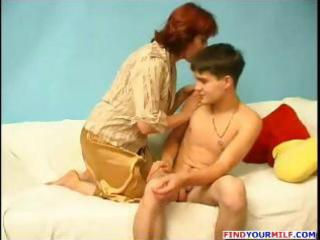 enchanting young stud acquires seduced by a aged
