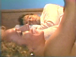 wife receives fucked as spouse tries to sleep
