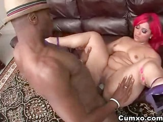 sexy butt ebon hottie with corpulent ass pounded
