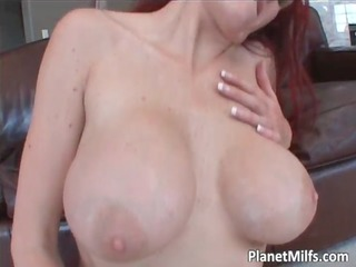 breasty redhead mother i fucking and sucking