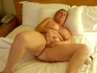 mature wife masturbating with toys