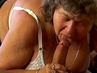 breasty granny is deeply drilled
