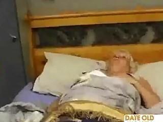 fat older copulates the massage boy