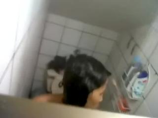 video - wife sister bath hidden web camera spy