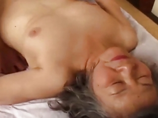 granny japanese is fuck by juvenile man
