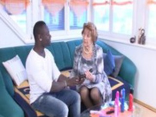 german granny takes it is hard by a young black