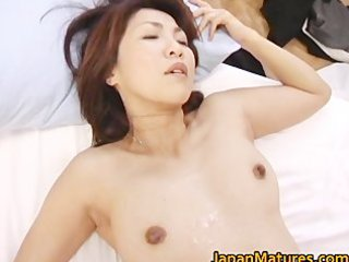 lewd japanese mature honeys sucking part5