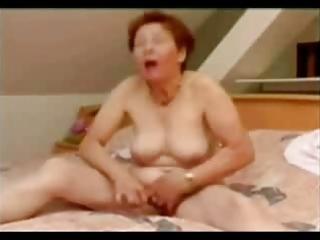 aged woman masturbating good. amateur