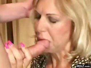 beautiful blond milf drilled by a younger stud