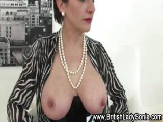 nylons mature lady sonia in hot underware