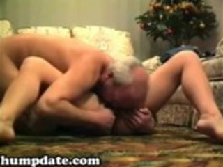 lascivious aged babe sucks and rides jock