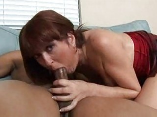 hawt older redhead desi foxx takes on bbc