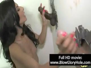 gloryhole - hawt busty babes love sucking rod 04
