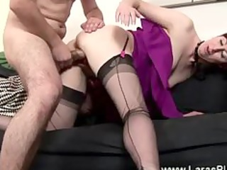 excited playgirl fingerd and drilled by very