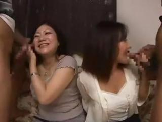 nasty asian mama and her youthful daughter
