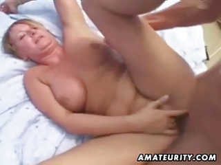 older non-professional wife homemade anal with