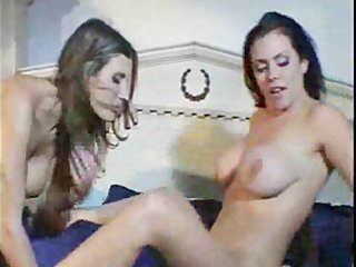 breasty lesbo milfs playing with every other