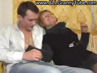 german aged mother drilled by a guy