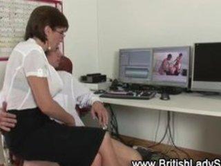 british aged slut lady sonia tugjob