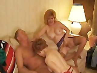 kitty foxx threeway with a aged mature aged porn