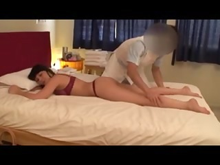 non-professional blonde wife massage (pts-11115)