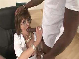 mature stocking fetish doxy black knob