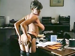 fucked on office table