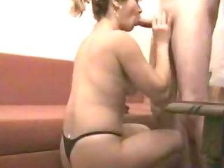 wife in panties sensual bj clip