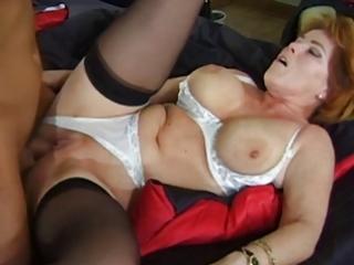 sexy mamma kira enjoys a well merited dp