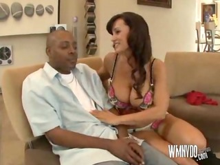 lisa ann is home alone, lisa ann dark brown milf