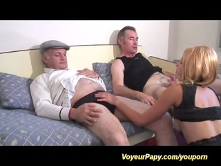 papy and mate fuck same wench