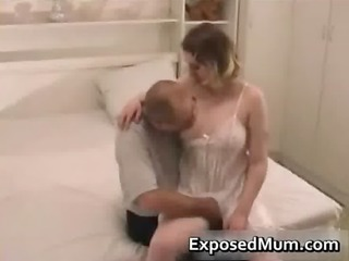 mother wearing hose permeated
