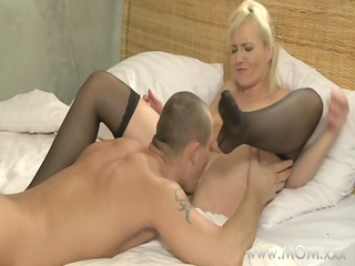 mama youthful man copulates his d like to fuck