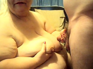 jacking off hubby cums on my mambos