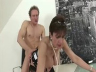 mature stocking fetish wench hard fucking