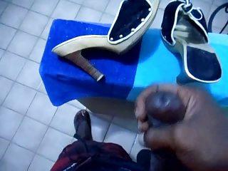 jack off wife shoes heels schuhe