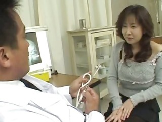 asian doctor and oriental anus