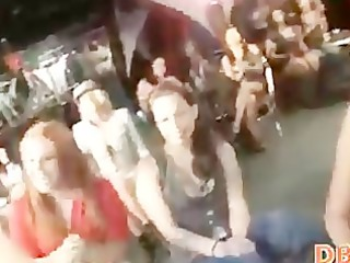 harlots engulfing in disrobe club